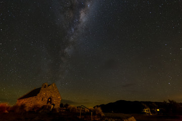 milkyway above Church of Good Shepherd