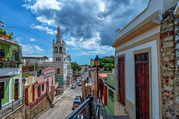 View of Santo Domingo streets