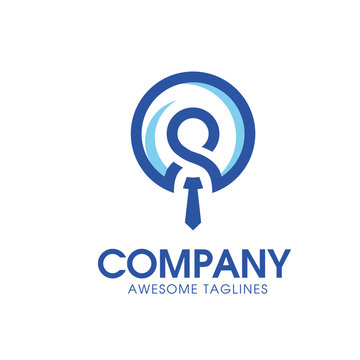 leadership and Recruitment agency logo concept, staff choice logo