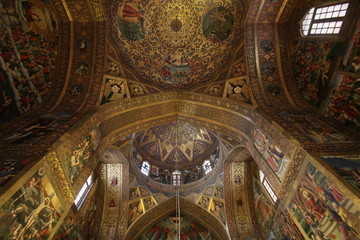 cathédrale de Jolfa, Iran