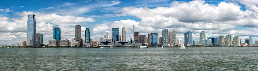 new jersey landscape from manhattan new york city