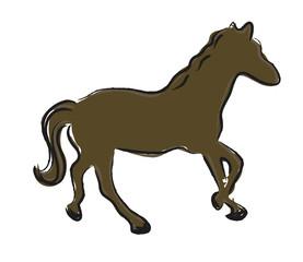 illustration horse vector