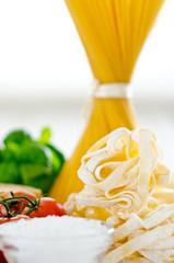 Pasta & Zutaten