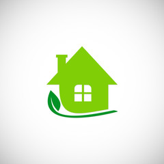 eco home garden logo