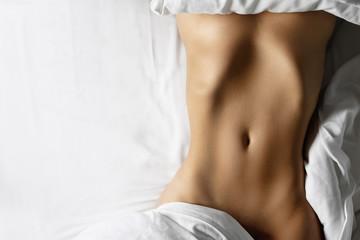 Beautiful female belly