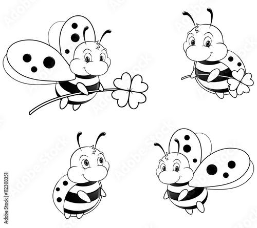 """happy ladybugs collection "" stockfotos und lizenzfreie"