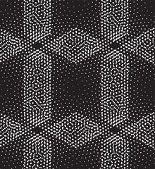 Vector seamless pattern rhombuses