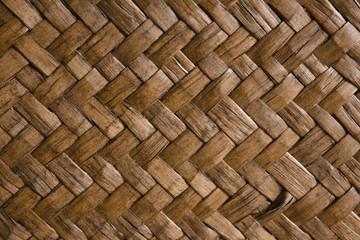 Bambus Textur Hintergrund geflochten