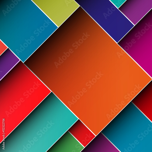 Business Material Design Brochure Cover Template Printing Layout Colorful Background