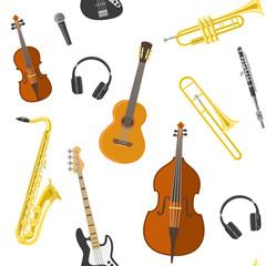 Flat Music Pattern