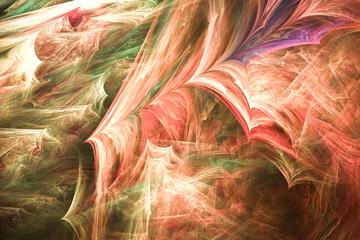 Abstract fantasy shapes