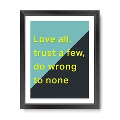 Quote motivational square