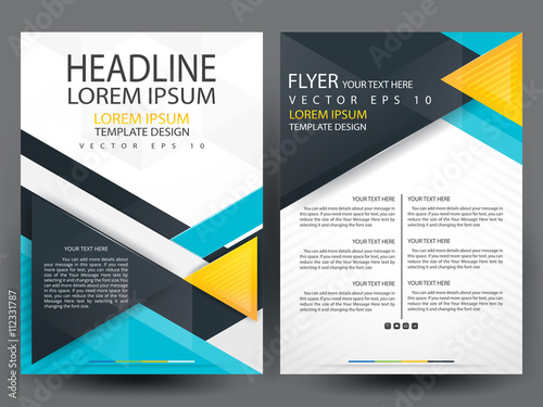 business brochure cover designbrochure template layout template background for businessannual report