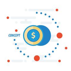 2 coin concept
