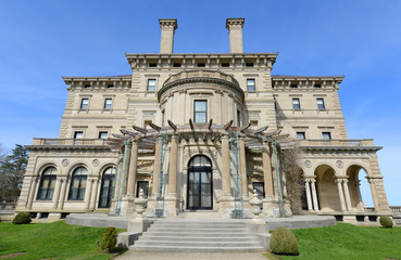 The Breakers is a one of the most fabulous mansion built in 1893 for Cornelius Vanderbilt and his family in Newport, Rhode Island, USA. This mansion is open to the public today.
