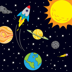Space Journey Theme