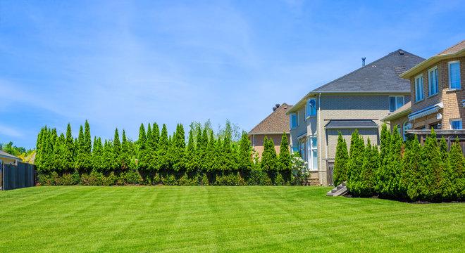 Luxury houses in North America