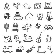 Toys Icons Collection