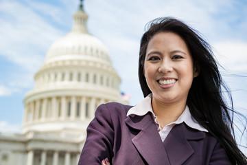 Successful woman in Washington, DC
