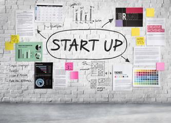 Start Up Business Idea Beginning Concept