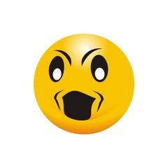 logo emotion symbol angry