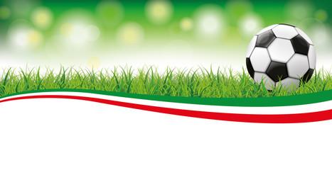 Football Grass Bokeh Header Italy