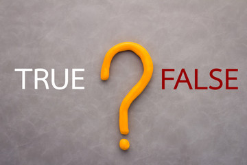 true or false decision concept