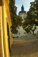 Way in Town of Kutna Hora, Bohemia