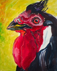 Portrait of the Rooster, picture