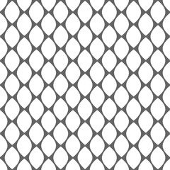 Geometric monochrome simple seamless pattern