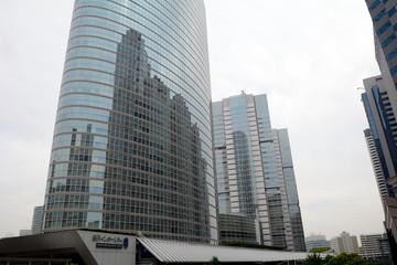 Intercity Towers in Shinagawa, Tokyo, Japan