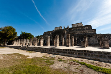 Ancient ruins of Maya, Mexico, Chichen Itza