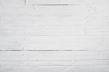 White weathered and painted wood texture
