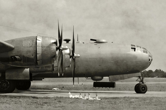Old bomber nose
