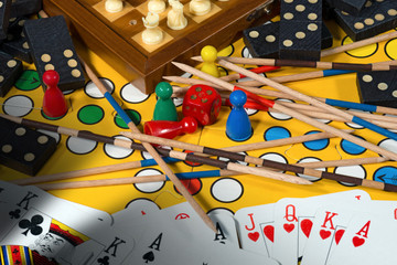 Board Games Concept