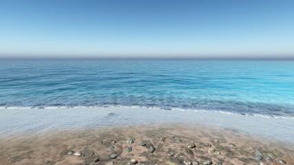 waves on the beach, seashore