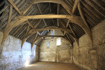 Tithe barn, Lacock, Wiltshire, UK