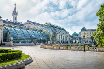 The Palmenhaus in the Burggarten, Vienna, Austria