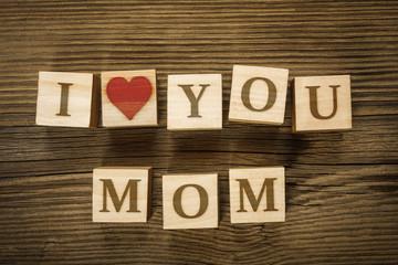Message I LOVE YOU MOM