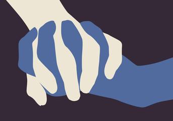 Main dans la main - Paix - Fraternité