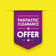 Fantastic clearance offer ribbon