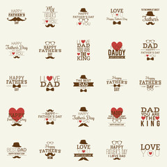 father day  labels