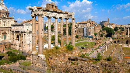 Roman Forum in the Morning, Rome, Italy