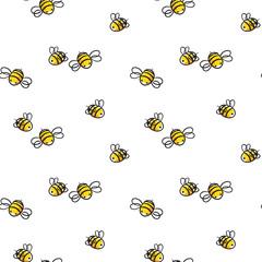 honey and Bee vector