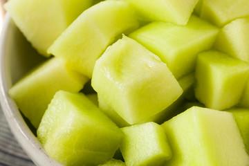 Green Organic Honeydew Melon