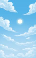 Beautiful daytime sky