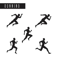 the running  design