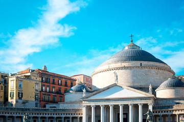 San Francesco di Paola, Plebiscito Square in Naples, Italy