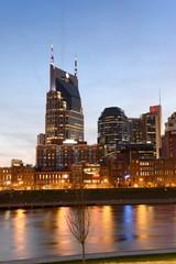Fototapete - Buildings in Downtown Nashville