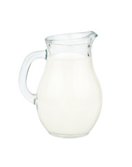 Jug with milk